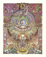 Poster: [Grateful Dead iconography]
