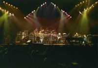 Grateful Dead: Phil Lesh, Bill Kreutzmann, Bob Weir, Mickey Hart, Jerry Garcia, Vince Welnick, Bruce Hornsby
