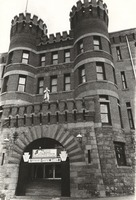 """Scranton promotional package, ca. 1970s: """"One: Main entrance to the turn-of-the-century Watres Armory, home of the Pennsylvania National Guard."""""""