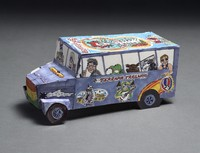 Terrapin Trailways bus paper model