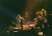Grateful Dead: Bruce Hornsby, Jerry Garcia, Bob Weir, Phil Lesh, Vince Welnick, Mickey Hart, Bill Kreutzmann