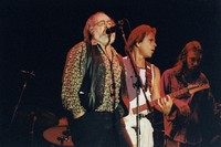 Robert Hunter, Bob Weir, and Chris Robinson