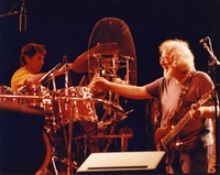 "Grateful Dead: Mickey Hart and Jerry Garcia performing ""Good Lovin'"""