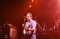 Grateful Dead: Bob Weir, with Bill Kreutzmann in the background