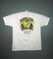 "T-shirt: ""Grateful Dead / Fall Tour 1994 / New York"". Back: ""Grateful Dead / Fall Tour 1994 / New York"" - big apple, skyscrapers"