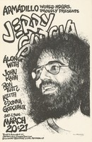 Jerry Garcia along with John Kahn, Ron Tutt & Keith & Donna Godchaux - Armadillo World Headquarters proudly presents - March 20-21 [1976]