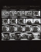 "Grateful Dead: ""Throwing Stones"" video shoot: contact sheet II of 20 images"