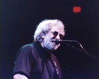 "Jerry Garcia performing ""Walking Blues"""