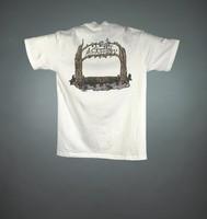 "T-shirt: ""Grateful Dead"" - tree arbor with dancing bears. Back: ""25th Anniversary"" - tree arbor"