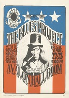Blues Project, with the Great Society and lights and stuff by Tony Martin - Family Dog Presents From New York - April 22-23 [1966] - Avalon Ballroom