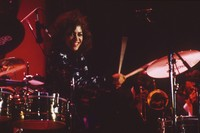 Unidentified female drummer