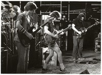 Grateful Dead: Phil Lesh, Bob Weir and Jerry Garcia