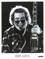 Jerry Garcia publicity photo for Arista Records