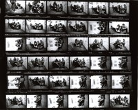 Grateful Dead at 710 Ashbury Street: contact sheet with 36 images