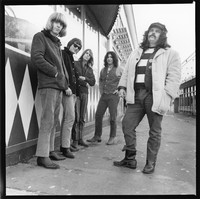"Grateful Dead: Phil Lesh, Bill Kreutzmann, Bob Weir, Jerry Garcia, and Ron ""Pigpen"" McKernan"