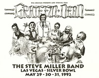 Grateful Dead, The Steve Miller Band. May 29-31, 1992, Silver Bowl, Las Vegas