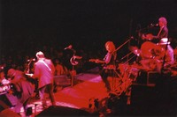 Bonnie Raitt and her band opening for the Grateful Dead