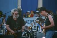 Jerry Garcia and Steve Kimock