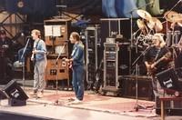 Grateful Dead, ca. 1988: Phil Lesh, Bob Weir, and Jerry Garcia
